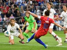 Les Américaines s'imposent facilement face aux Portugaises. AFP