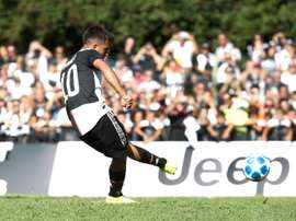Dybala marque contre la Juve B. AFP