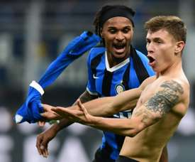 Valentino Lazaro, steps away from Newcastle. AFP