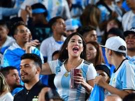 Les pays latinos à domicile aux USA. AFP