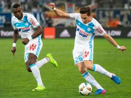 Marselha goleia Saint-Étienne por quatro bolas a zero. AFP
