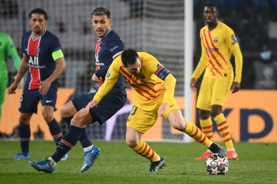 Paredes - XI ideal do PSG para a 2021-22