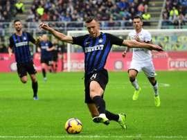 L'Inter et sa manita. AFP