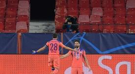 Giroud a marqué plus de buts en un match que sur toute la Coupe du Monde 2018. AFP
