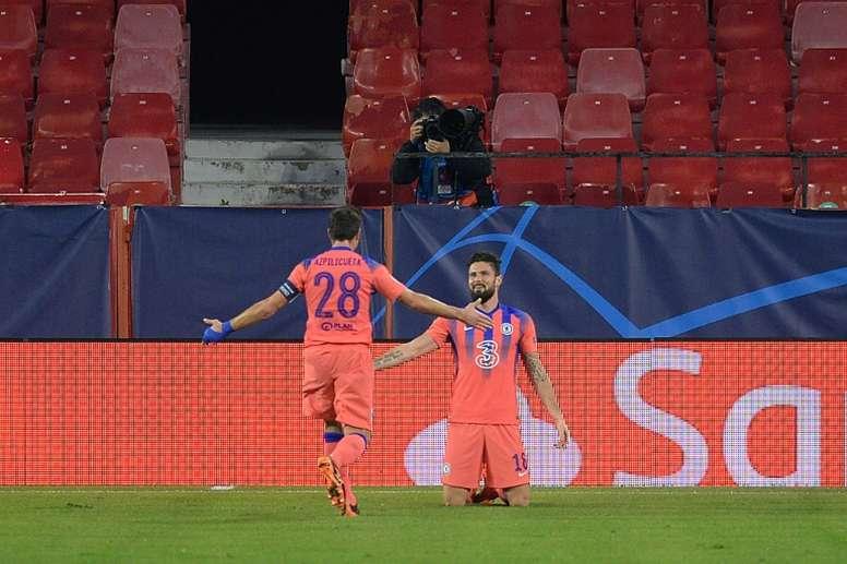 Giroud ha segnato quattro gol. AFP