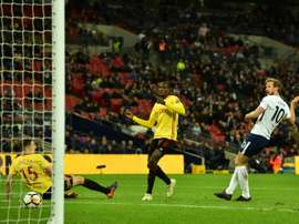 Tottenham volta a vencer e Kane volta a marcar. AFP