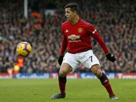 United want to get rid of Sánchez. AFP