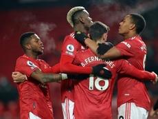 Manchester United vise la tête. AFP