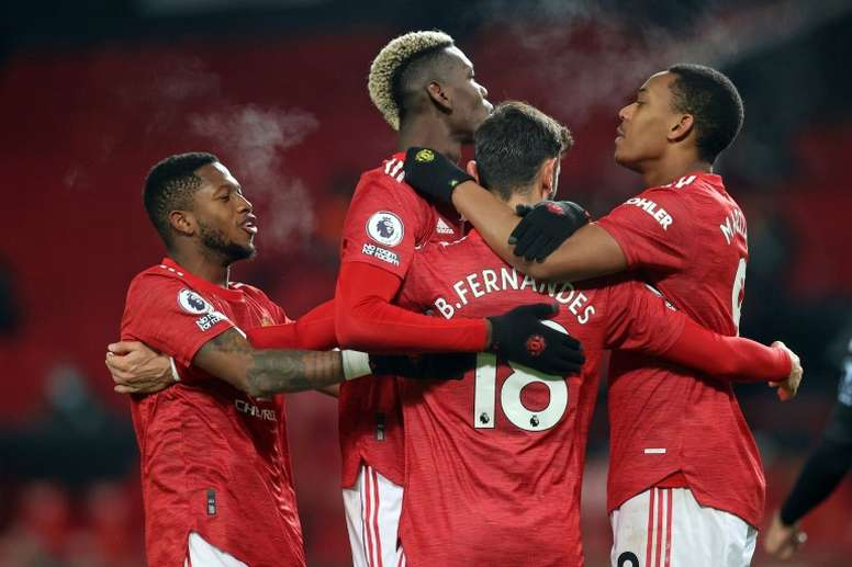 Manchester United peut remercier Paul Pogba. afp