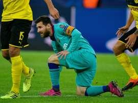Messi égale Raúl parmi les plus capés de Ligue des champions. AFP