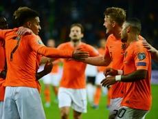 Les Pays-Bas punissent l'Allemagne à Hambourg. AFP