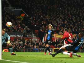 Man Utd thrill with 5-0 thumping of Brugge. AFP