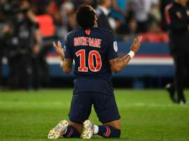 Keita Baldé recruterait Neymar. AFP