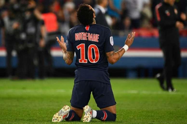 Le Barça étudie le prêt de Neymar. AFP