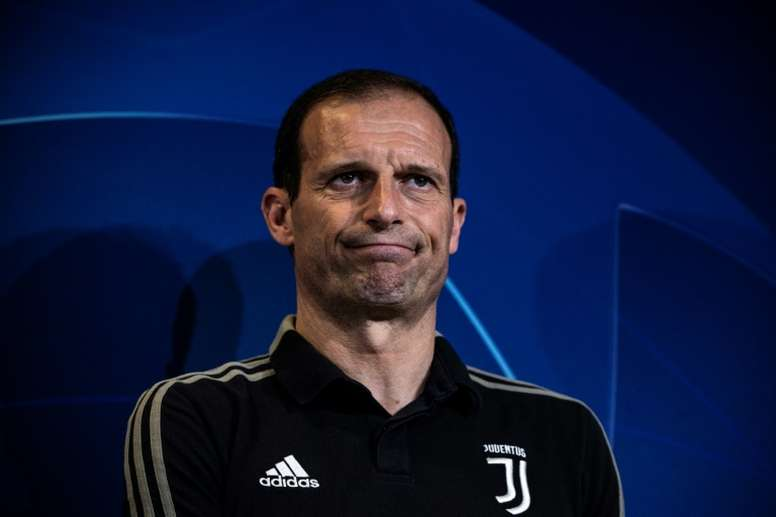 L'entraîneur de la Juventus Massimiliano Allegri. AFP