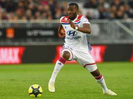 Tanguy Ndombele could be heading to the Premier League in the summer. AFP