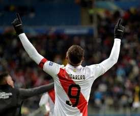 Guerrero pour l'histoire. AFP