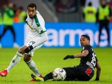 L'attaquant français de Mönchengladbach, Alassane Pléa. AFP