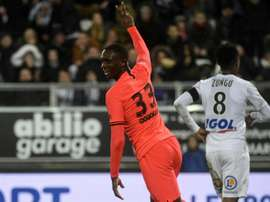Kouassi wants to triumph at PSG. AFP