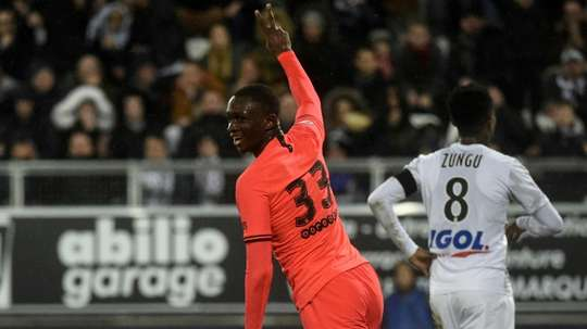 Kouassi wants to triumph at PSG. AFP