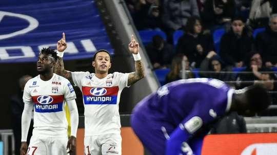 Les compos probables du match de Ligue 1 entre Toulouse et Lyon. AFP