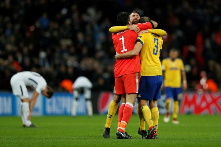 Tottenham out of the Champions League. AFP