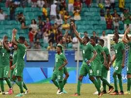 Le Nigeria qualifié pour les demi-finales olympiques devant le Danemark à Salvador, le 13 août 2016