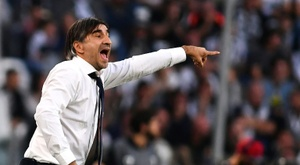 The Hellas Verona manager has been fined and suspended. AFP