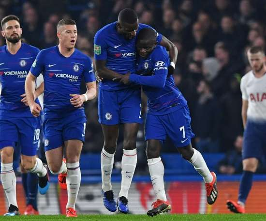Les compos officielles de Chelsea-Sheffield. AFP