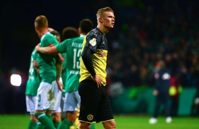 Haaland estuvo cerca de irse al Hoffenheim. AFP