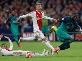 Sinkgraven quitte l'Ajax pour le Bayer Leverkusen. AFP