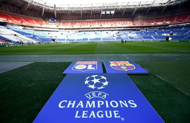 L'OL et le Barça dos à dos — Ligue des Champions