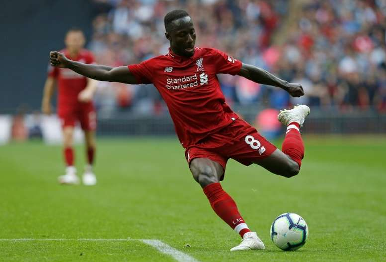 Keita could miss the rest of the season. AFP