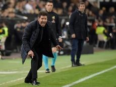 Huit ans après, le début de la fin de l'ère Simeone à l'Atlético ? AFP