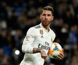 Ramos a joué 2 476 minutes. EFE