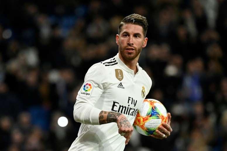 El futuro de Ramos, en el aire. AFP