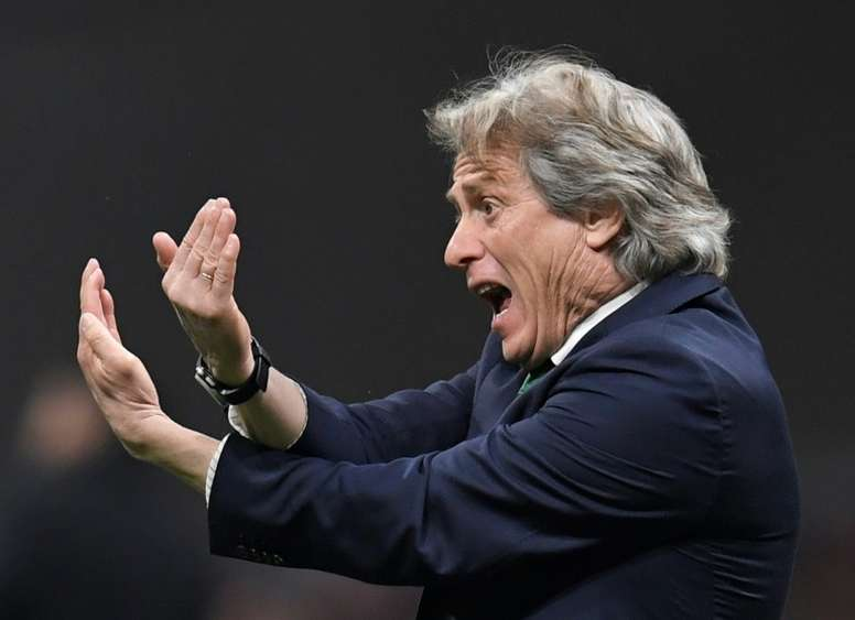 Flmanego's manager Jorge Jesus is one confident coach. AFP