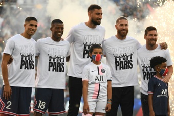 Wijnaldum raconte son choix de rejoindre Paris. AFP