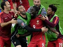 L'attaquant portugais Eder, buteur face à la France en finale de l'Euro-2016 au Stade de France. AFP