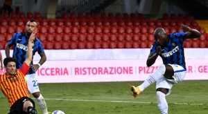 L'Inter corrige Benevento. AFP