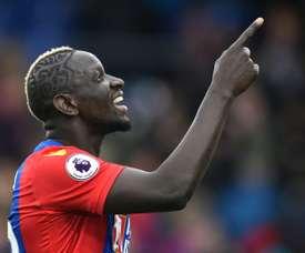 Sakho jugaría de inicio ante el Manchester City. AFP