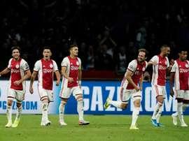 Valence-Ajax, un classique. AFP