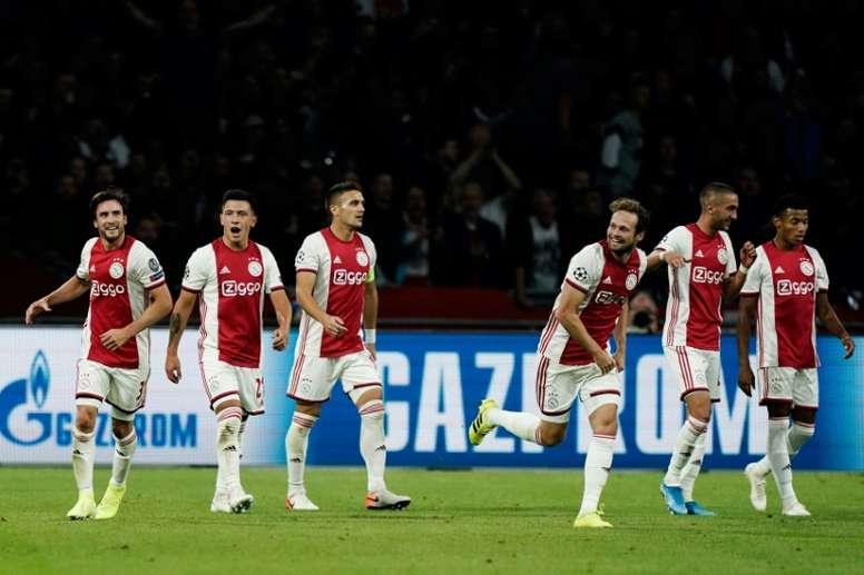 El Ajax con más beneficio de la historia. AFP