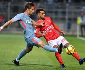 Adrien Silva pourrait revenir en prêt à Monaco. AFP