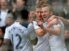 'Spurs' não complicaram ante o Millwall. AFP