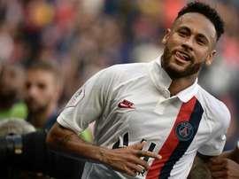 Neymar propulse Paris seul en tête, Rennes cale et Nice craque. AFP