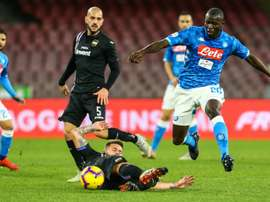 Naples réalise une performance. AFP