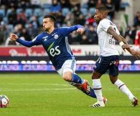 Le défenseur de Strasbourg Pablo Martinez. AFP