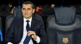 Valverde will remain in charge at Barcelona. AFP