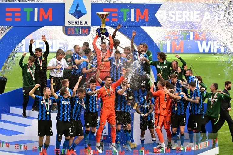 Inter campeón Serie A 2020-21